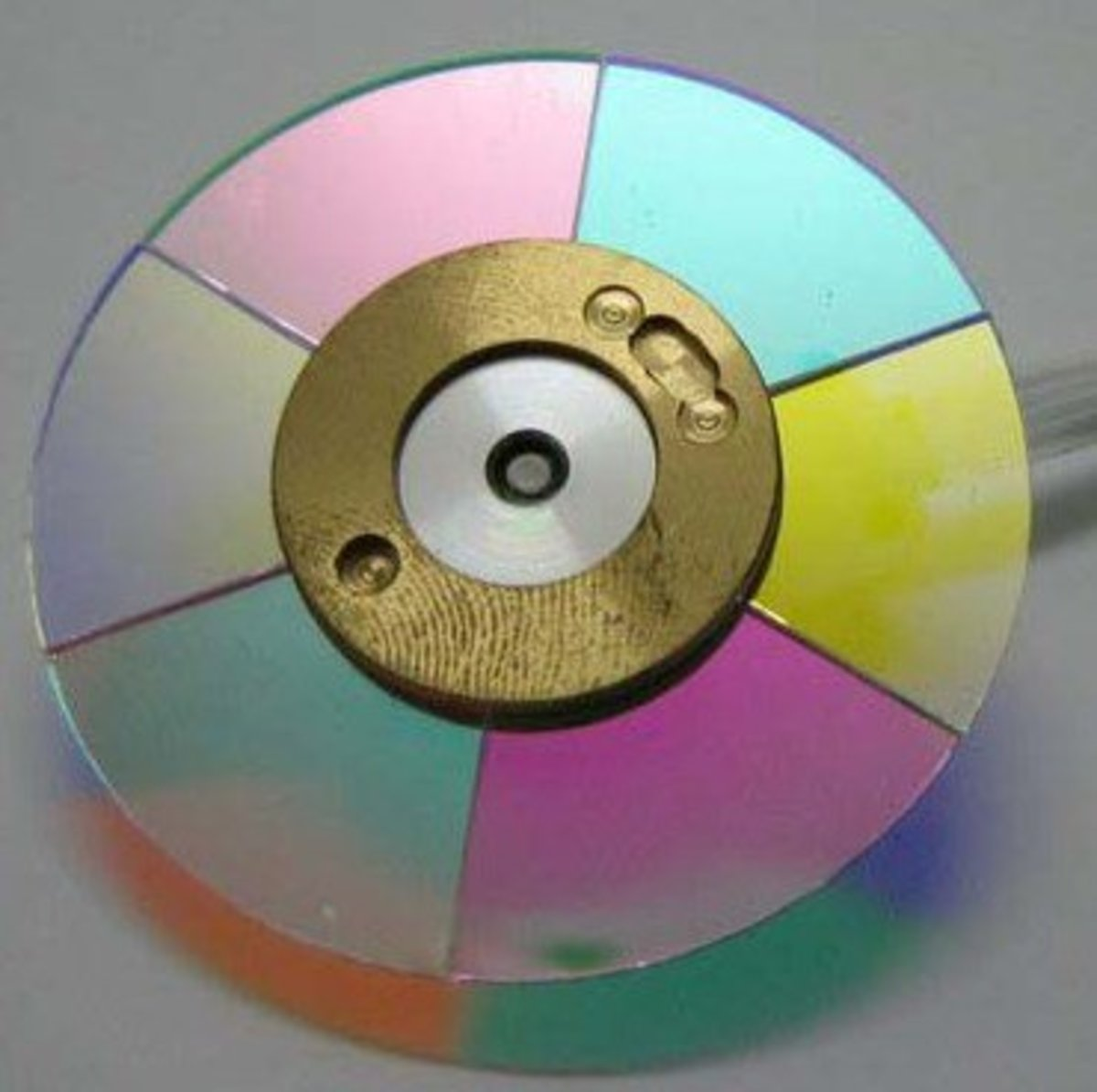 This is what the colour wheel looks like.