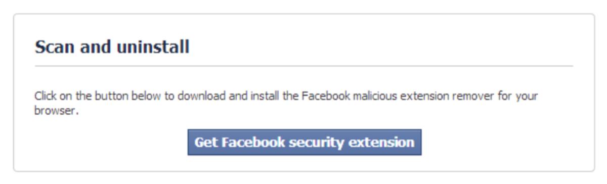 Facebook Login: Malware—Temporarily Locked.
