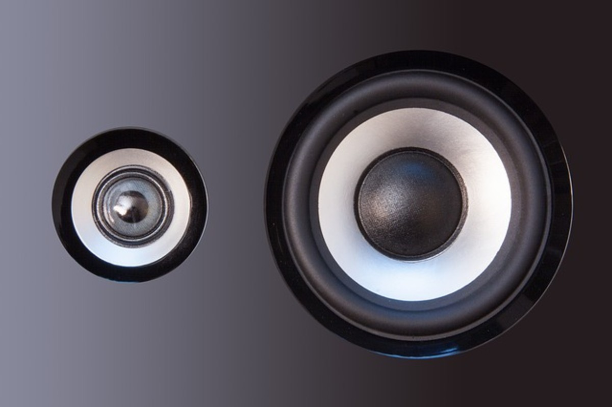 Two speaker drivers.  There are three way bookshelf speakers, but often the audio quality is not that great at the bass end.  Accordingly, I would generally suggest considering buying a subwoofer too to fill out the lower frequencies.