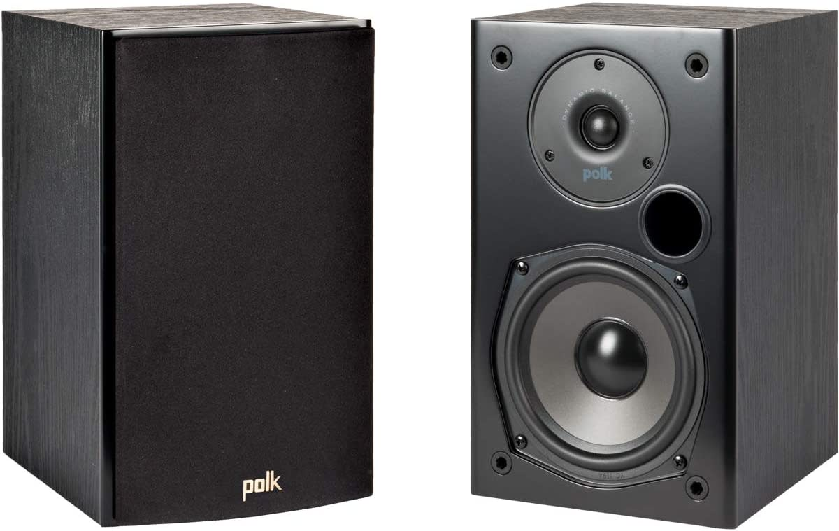Polk Audio T15 100 Watt Home Theater Bookshelf Speakers.