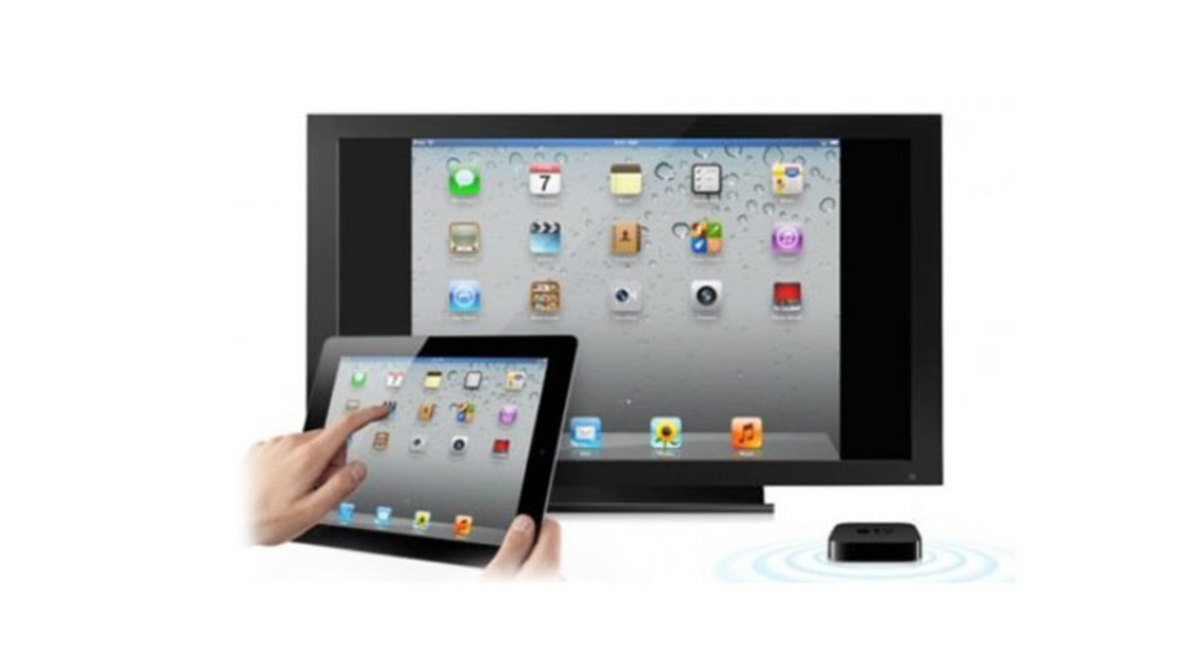iPad to TV with Apple TV (wireless)