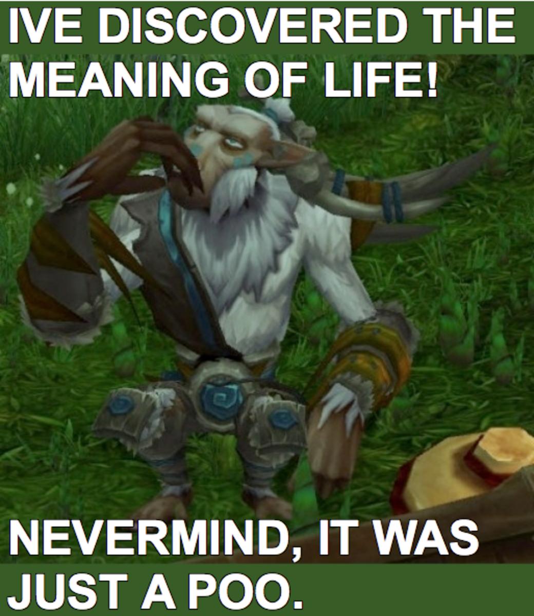 My first Ponder Monkey meme.