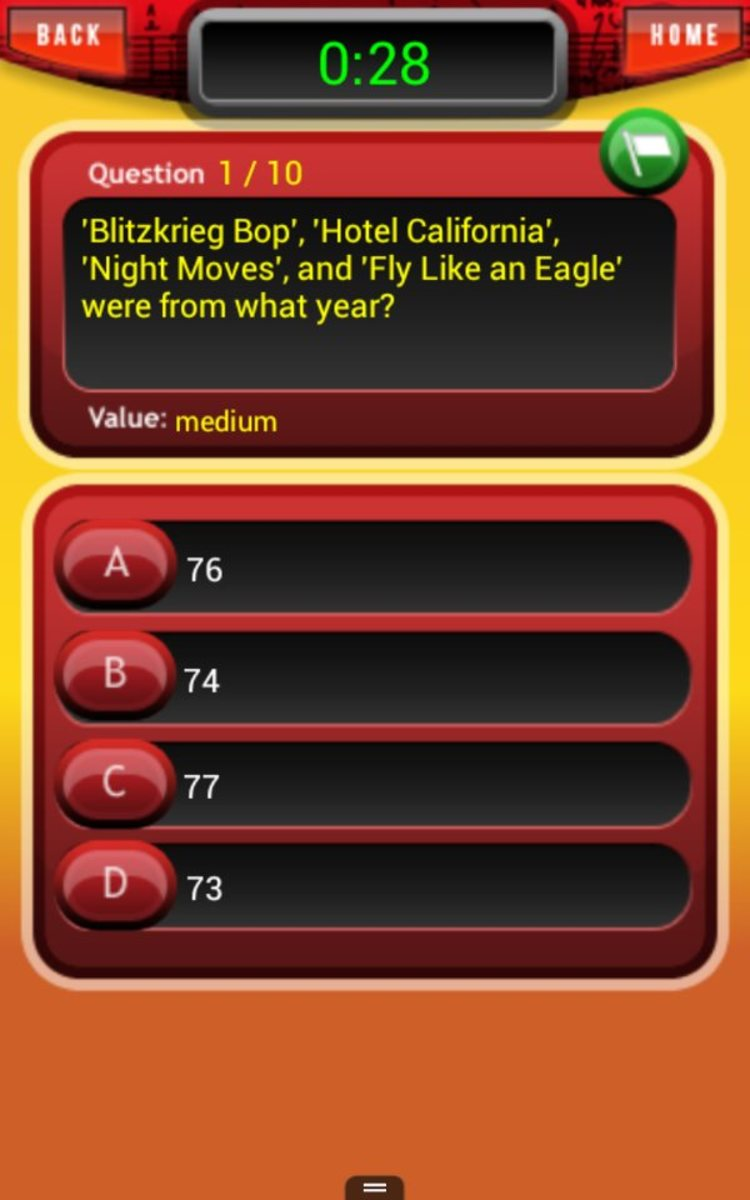Rock and Roll Heaven Trivia is HARD. I am not lying.