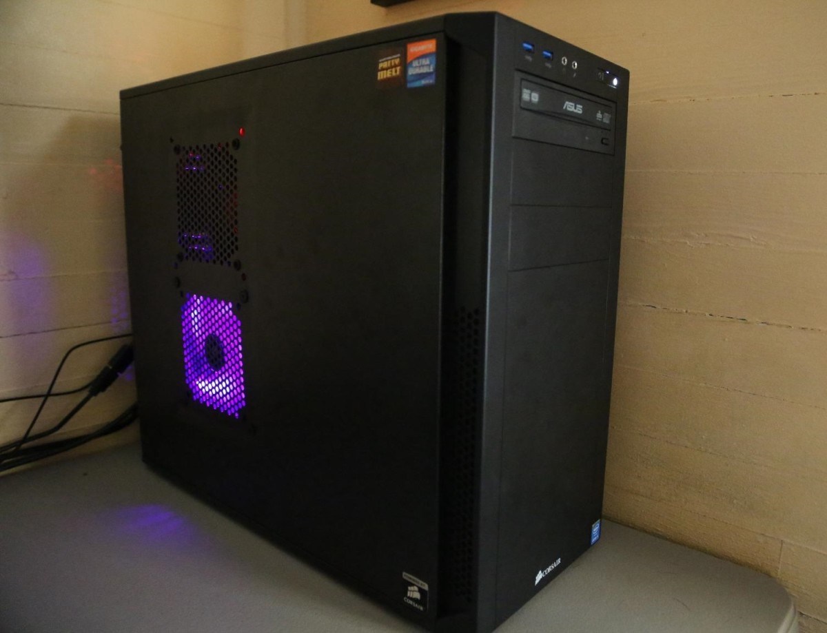 For $50 to $60, the Corsair series 200R case has  a lot going for it.