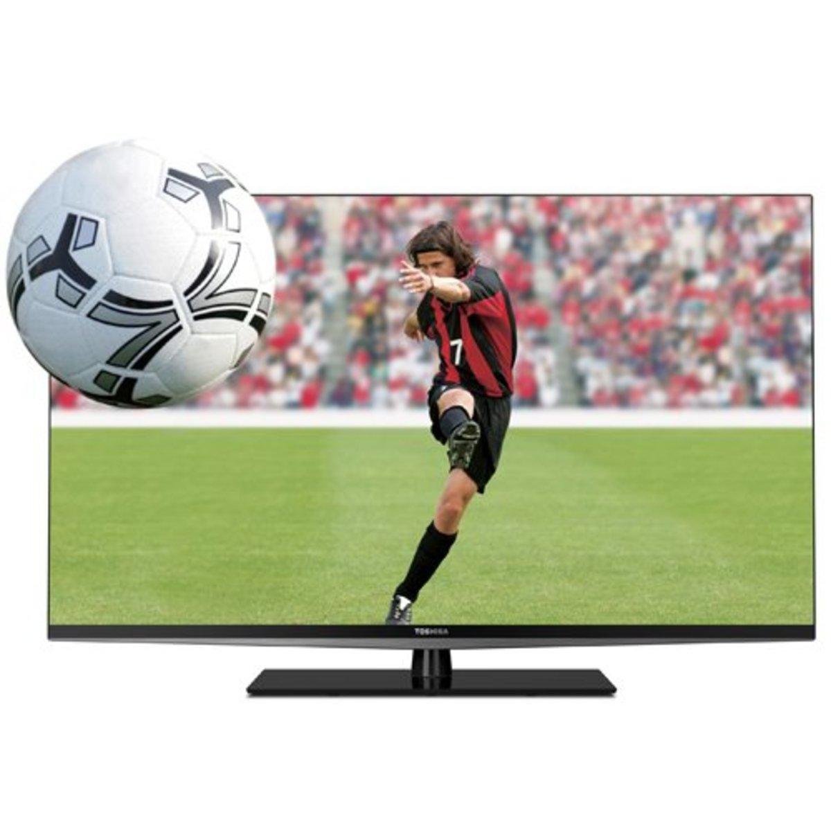 Budget Toshiba 55L6200U 3D HDTV