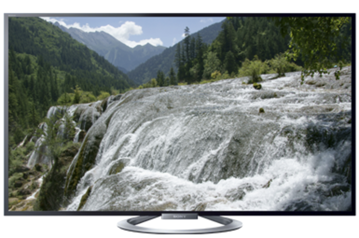 Pictured: Sony KDL-55W802A HDTV