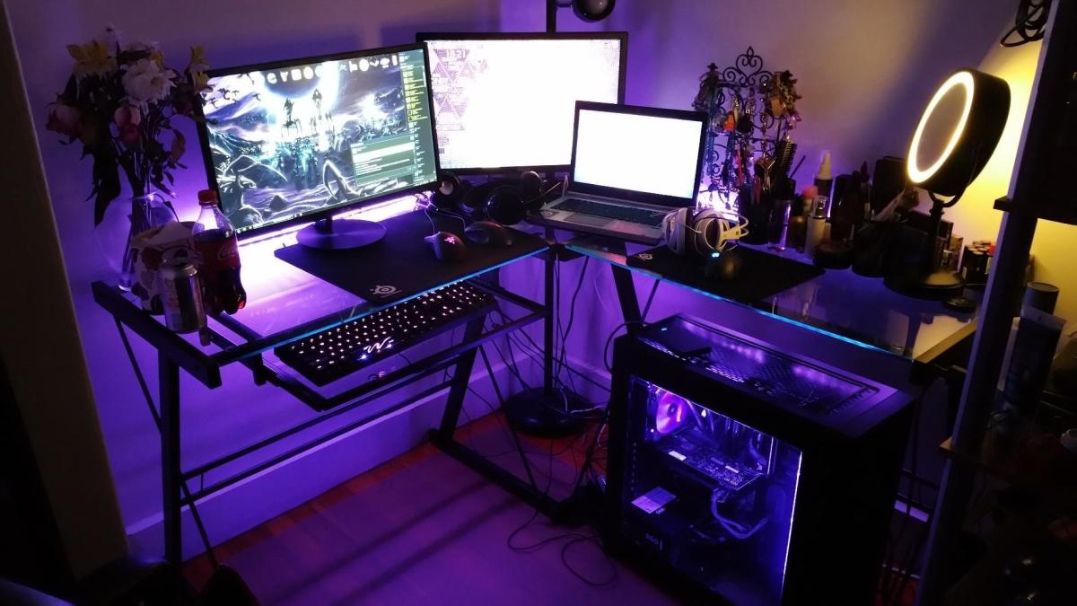 9 best budget corner office desks for pc gaming 2018 turbofuture
