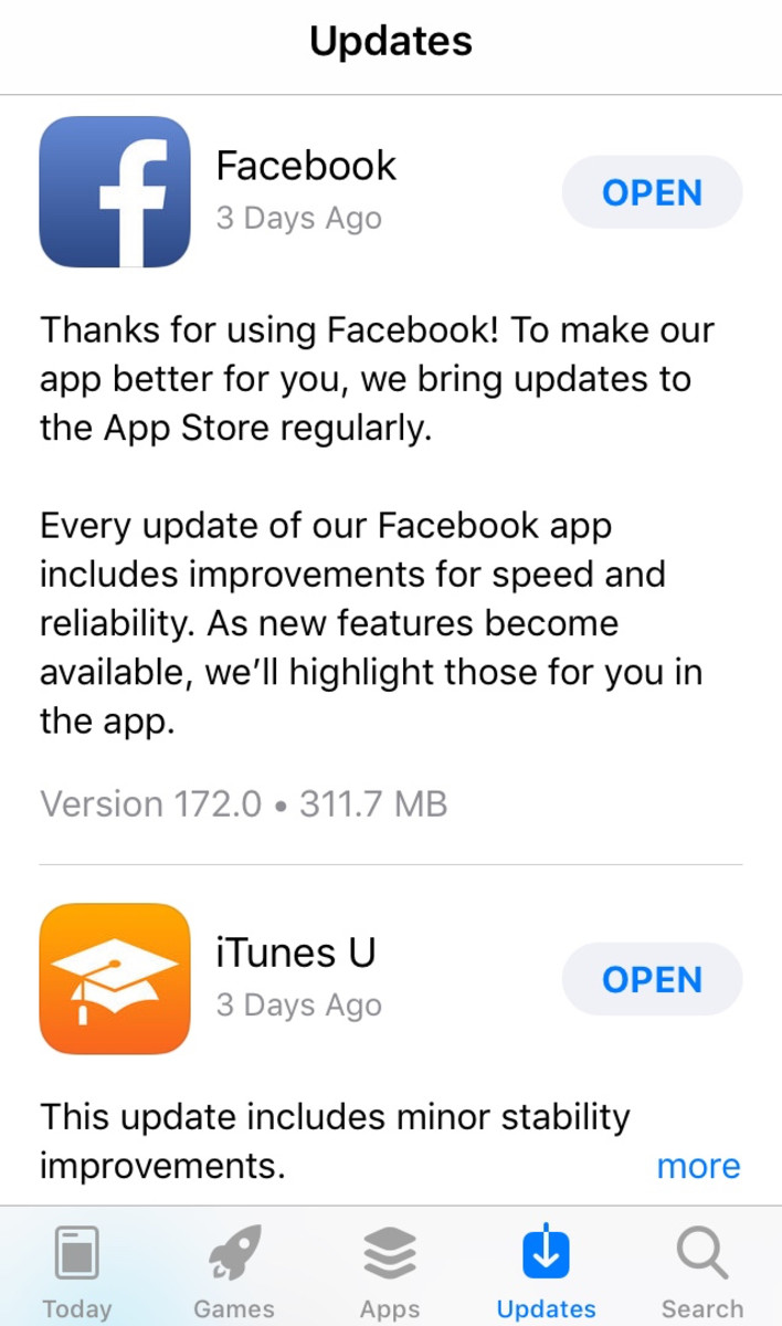 Check the app store to see if you have updated to the latest version.