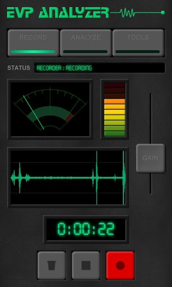 Ghost EVP Analyzer
