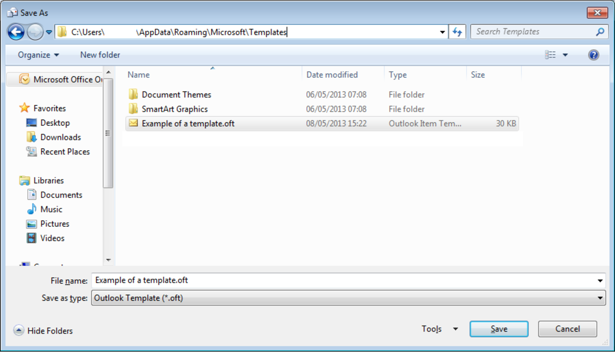 Outlook forms in Outlook 2007 and Outlook 2010.