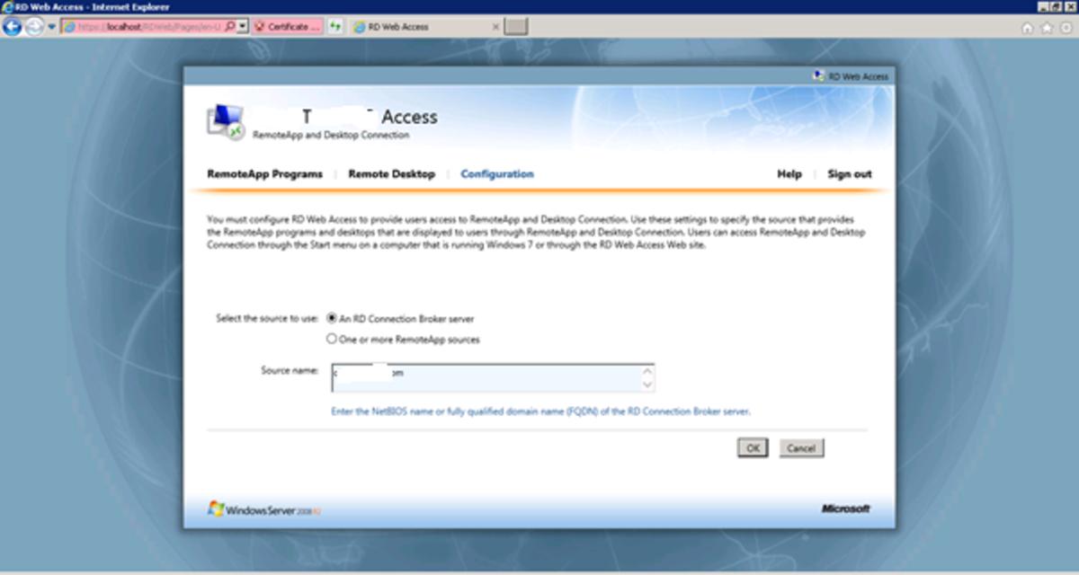 How to Remote Desktop via Proxy Server to a Remote Desktop Server