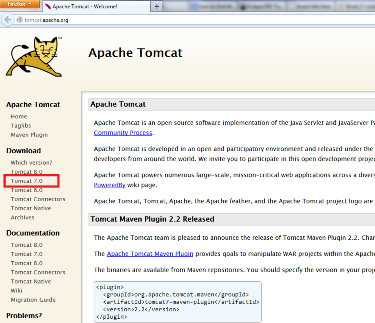 how to download file tomcat