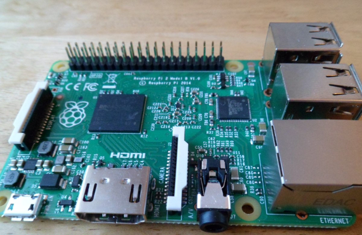 Raspberry Pi2 Single Board Computer (SPB)