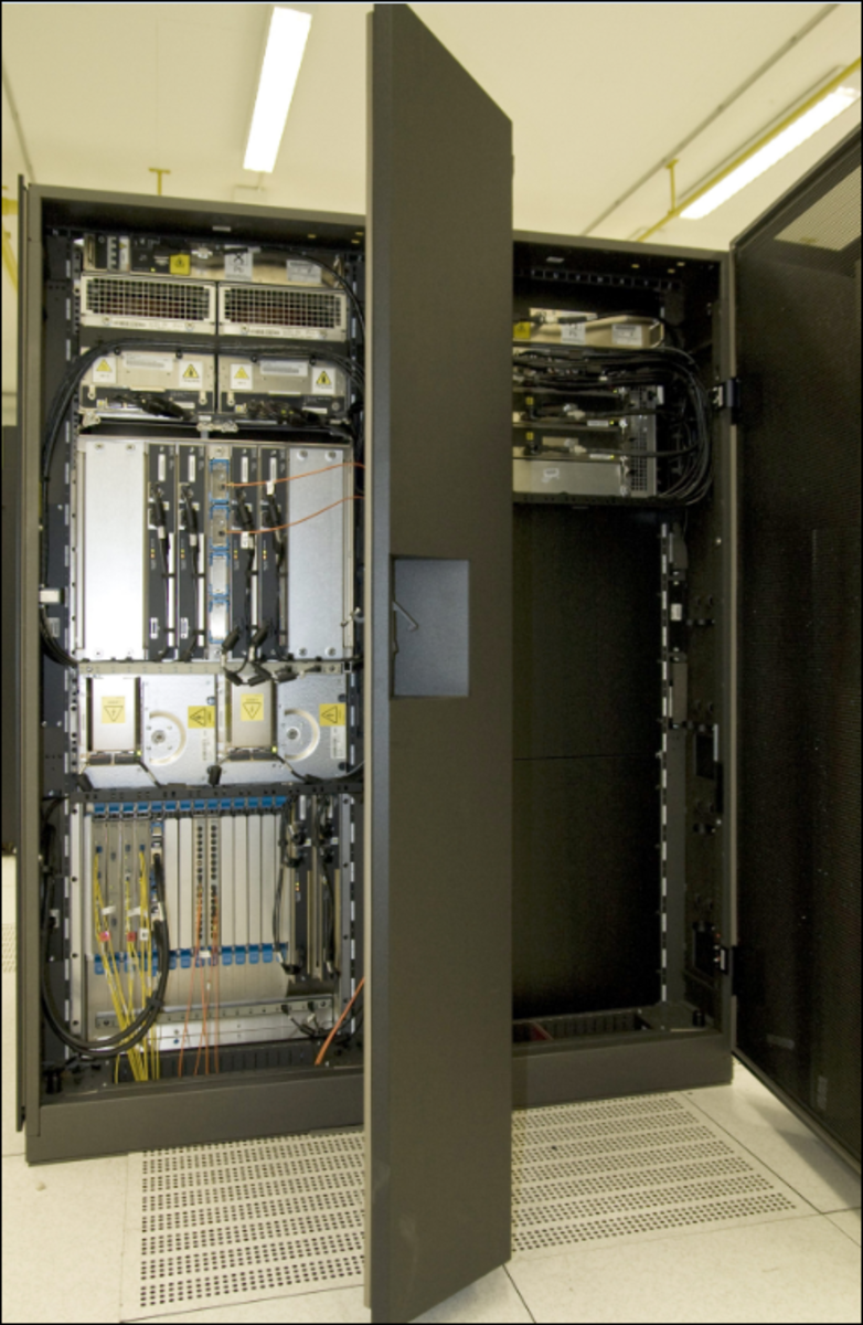 IBM System z9 mainframe is a large size computer type