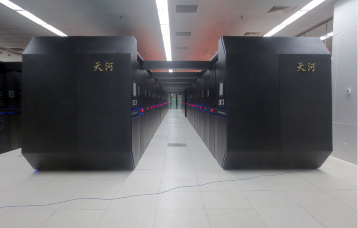 Tianhe-2 was the fastest supercomputer in 2013 - 2015