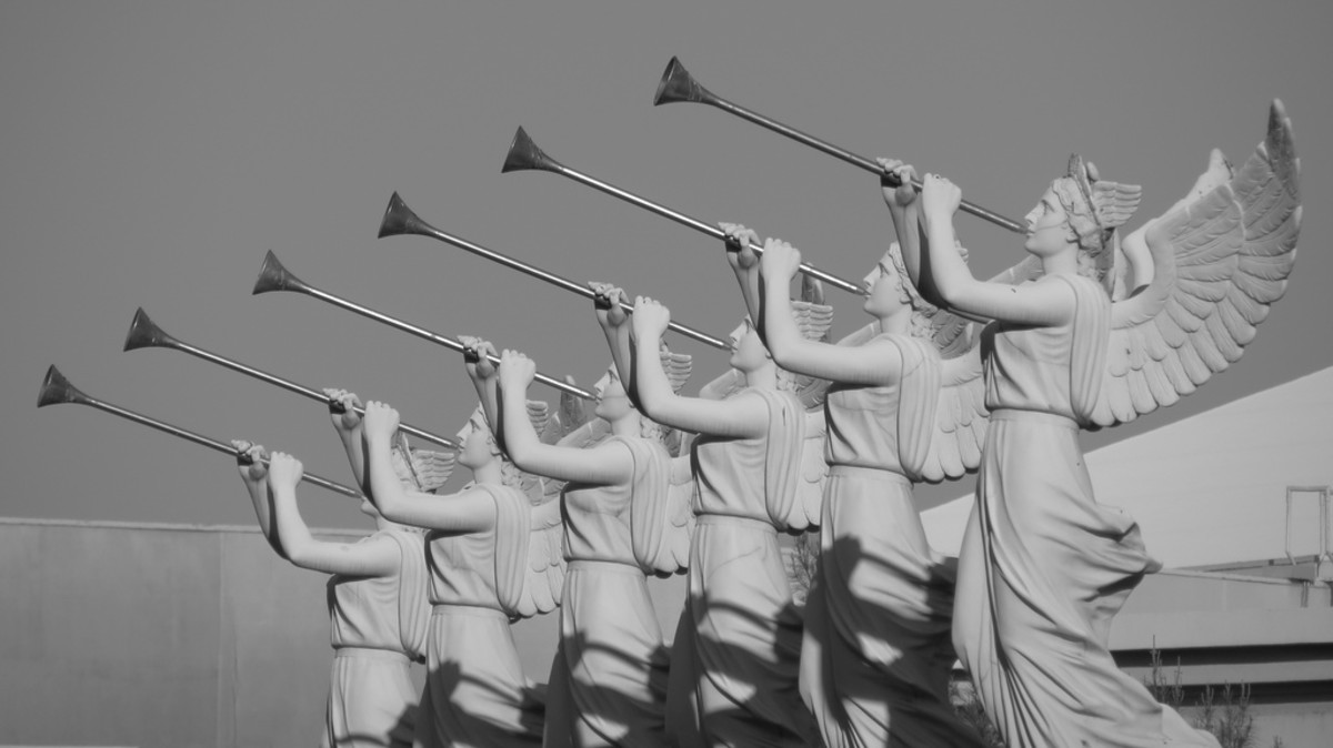 The sounding of seven angelic trumpets was mentioned in the Bible's Book of Revelations, with each horn causing a horrific event to occur during the apocalypse. Some people believe this auditory phenomenon signifies the upcoming Armageddon.