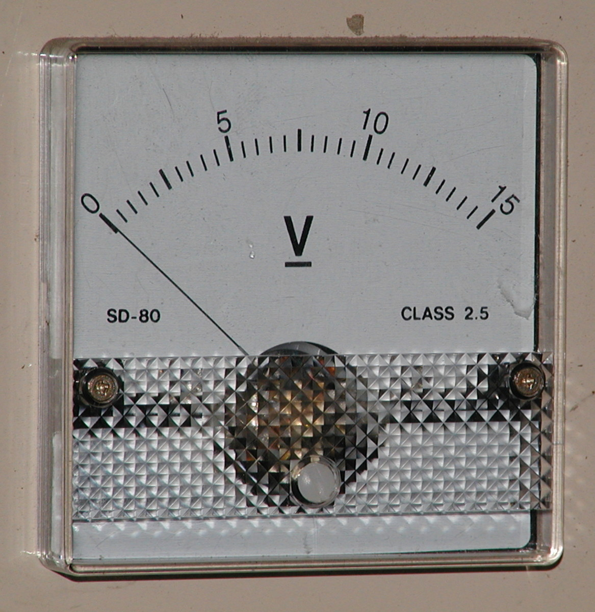 Another analog voltmeter