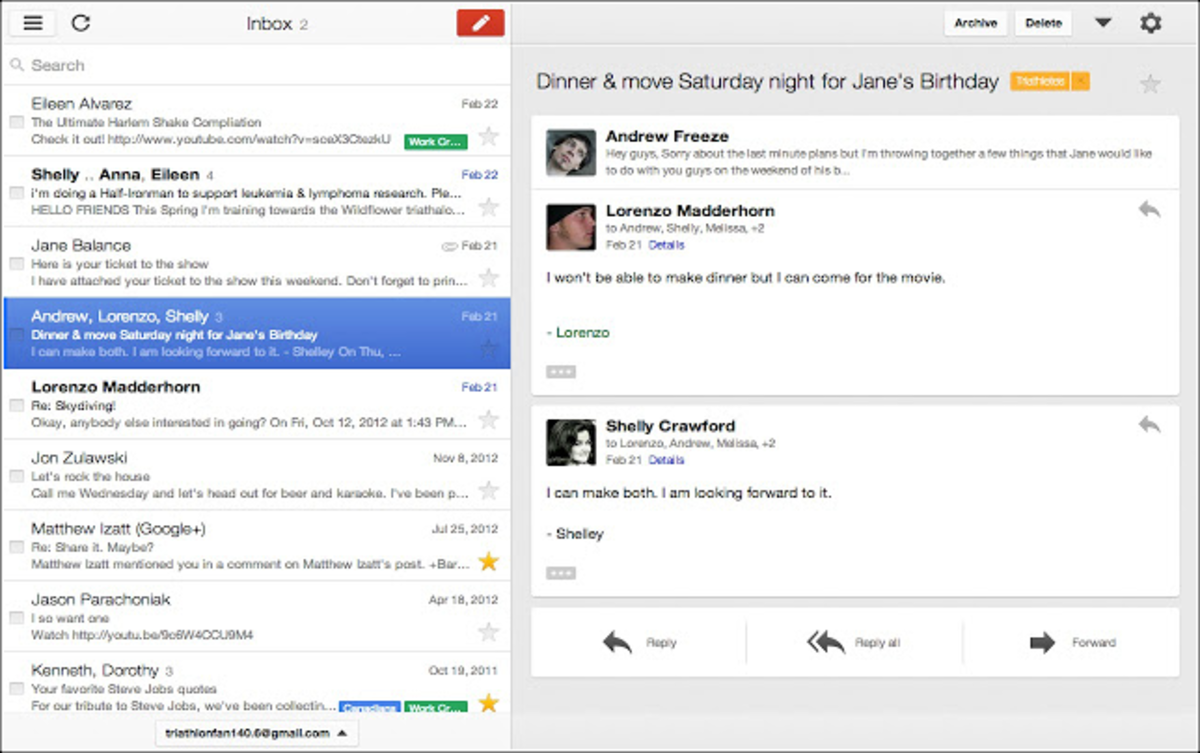 The Gmail Offline Web App