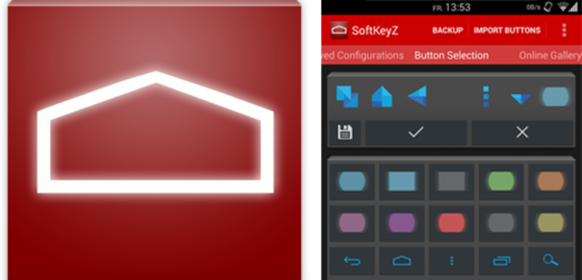 SoftKeyZ allows you to customize your Android's appearance.
