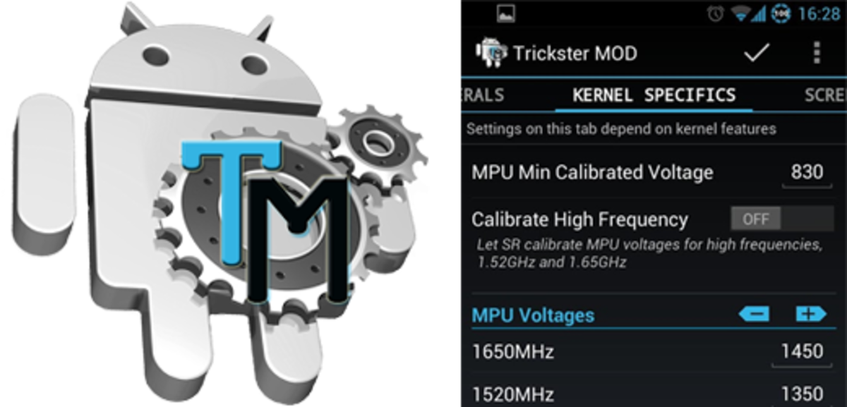 Trickster Mod will allow you to overclock or undervolt your phone and much more.