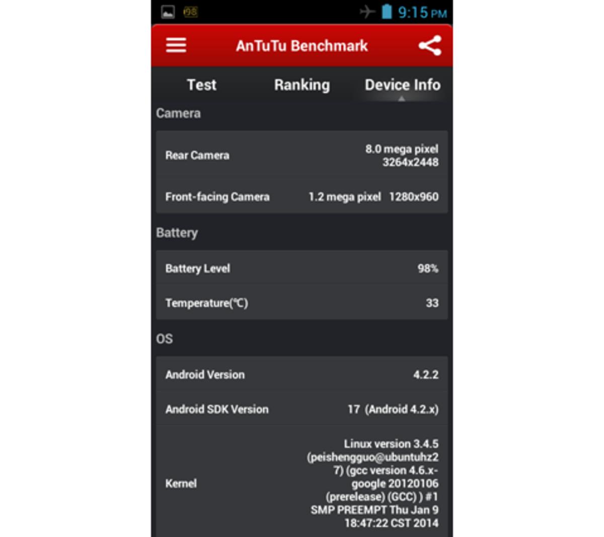 AnTuTu Benchmark 4