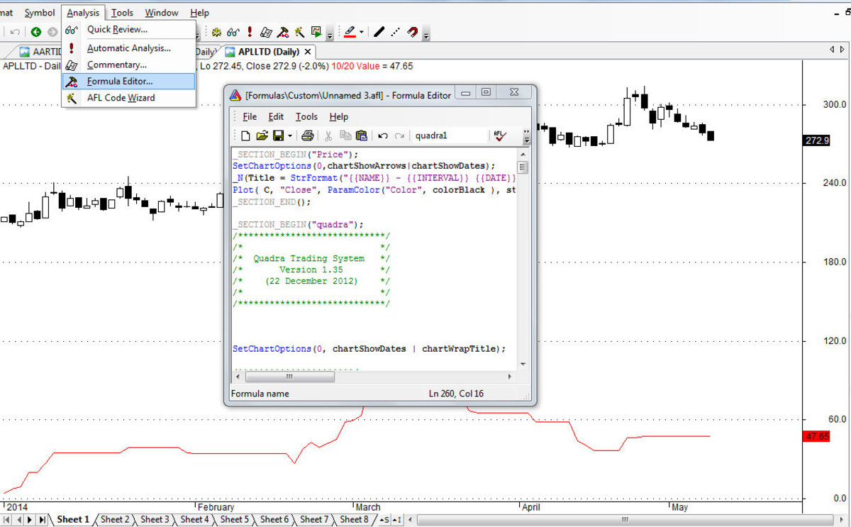How to Import AFL Formula in Amibroker | TurboFuture