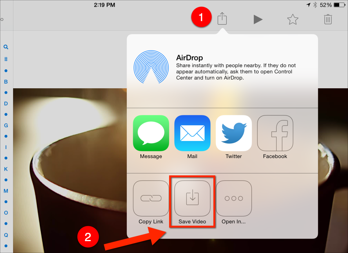 How to download a Dropbox video to your iPad