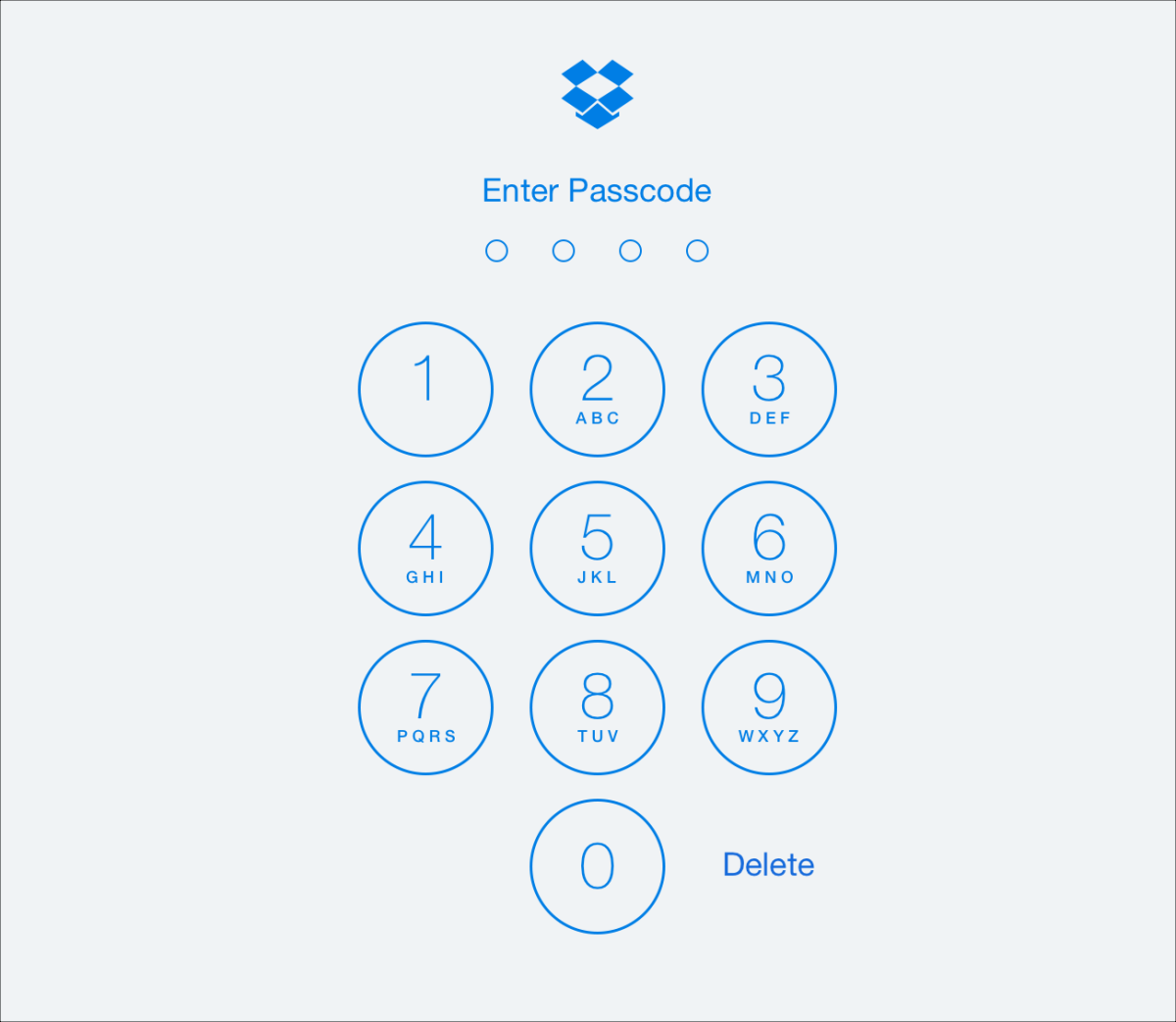 Adding a passcode protects your files from prying eyes!