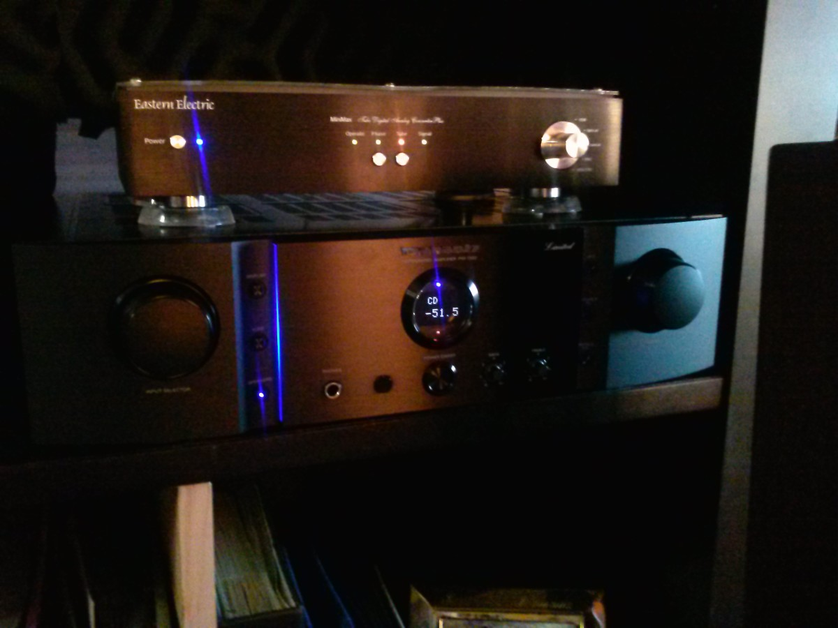 Eastern Electric Mini Max Plus DAC with my crown jewel Marantz.PM