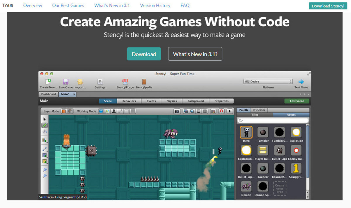 8 Best Game Making Tools