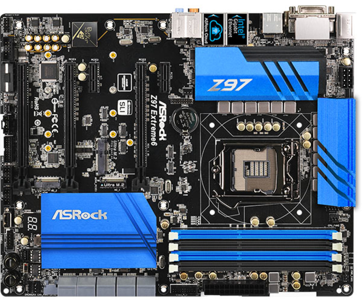The Super Alloy construction of this motherboard makes it stable and reliable. The aluminum heatsink design takes away heat in dramatic fashion.