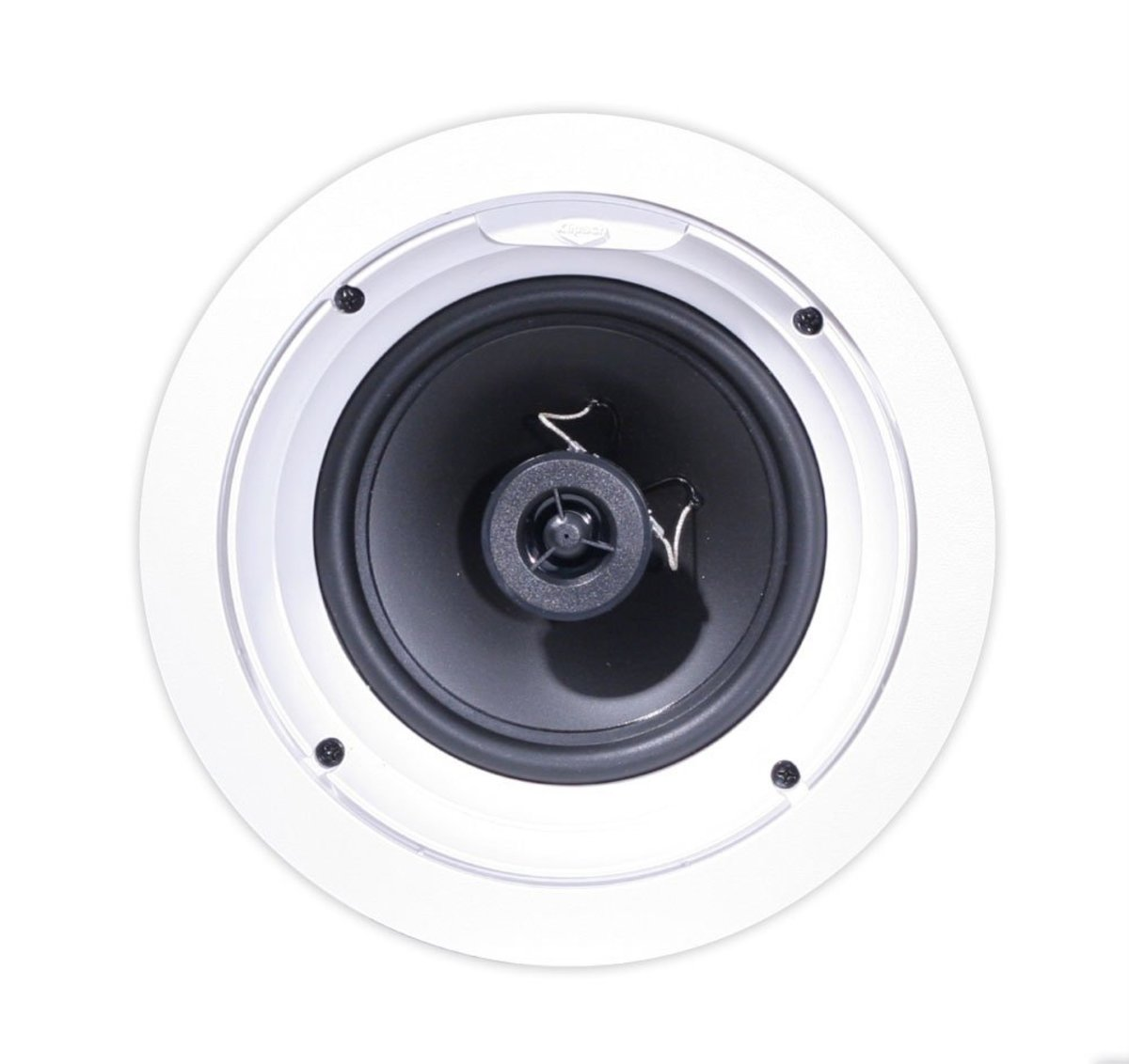 Klipsch in-ceiling loudspeakers (Model No R-1800-C), best for home theater and surround sound.