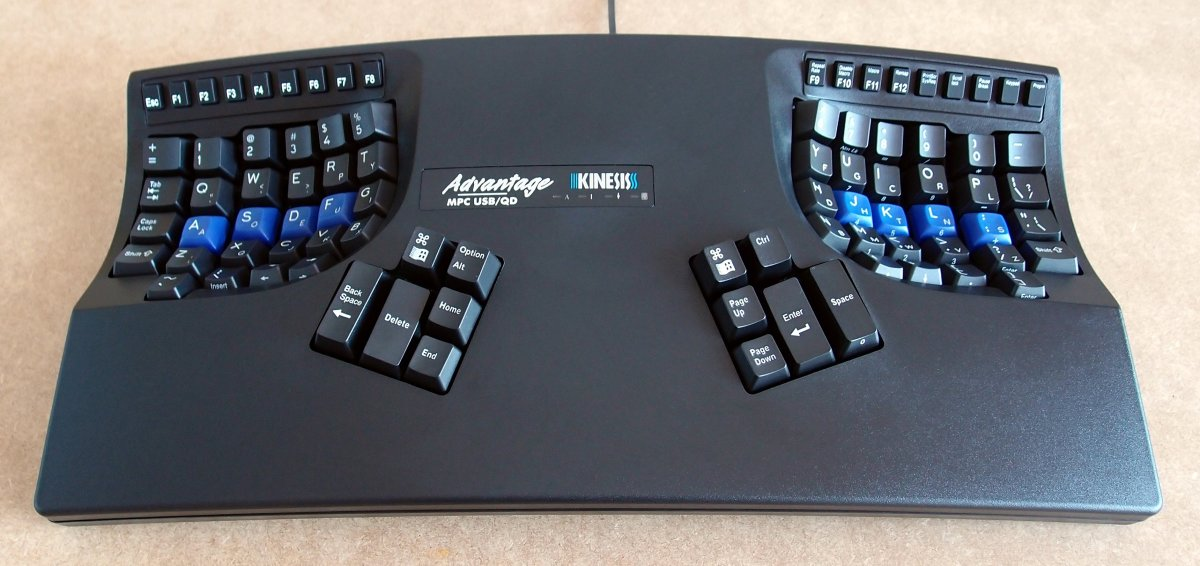 It's expensive, but the Kinesis Advantage has everything you need in terms of design, key responsiveness, and actuation.