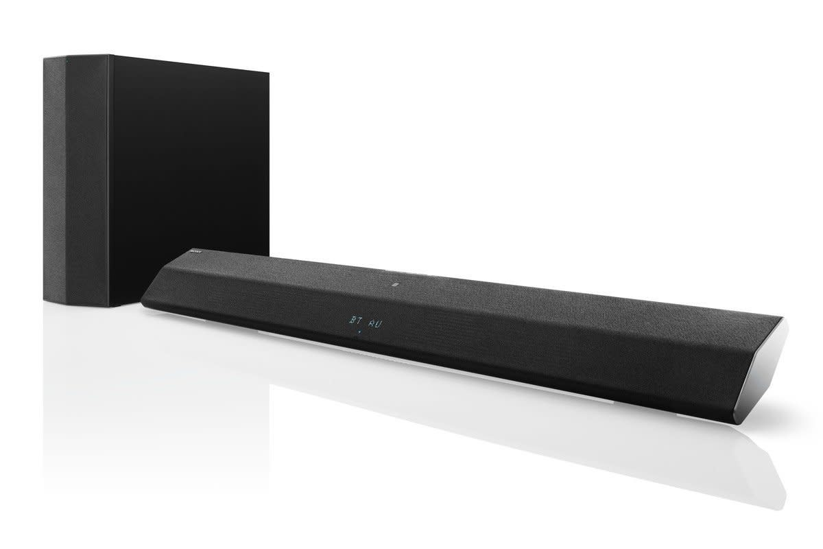 how to connect sony ht-gt1 soundbar to pc