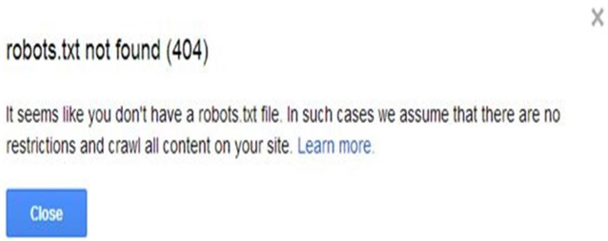Using robots txt to Disallow Search Engines to Index Your