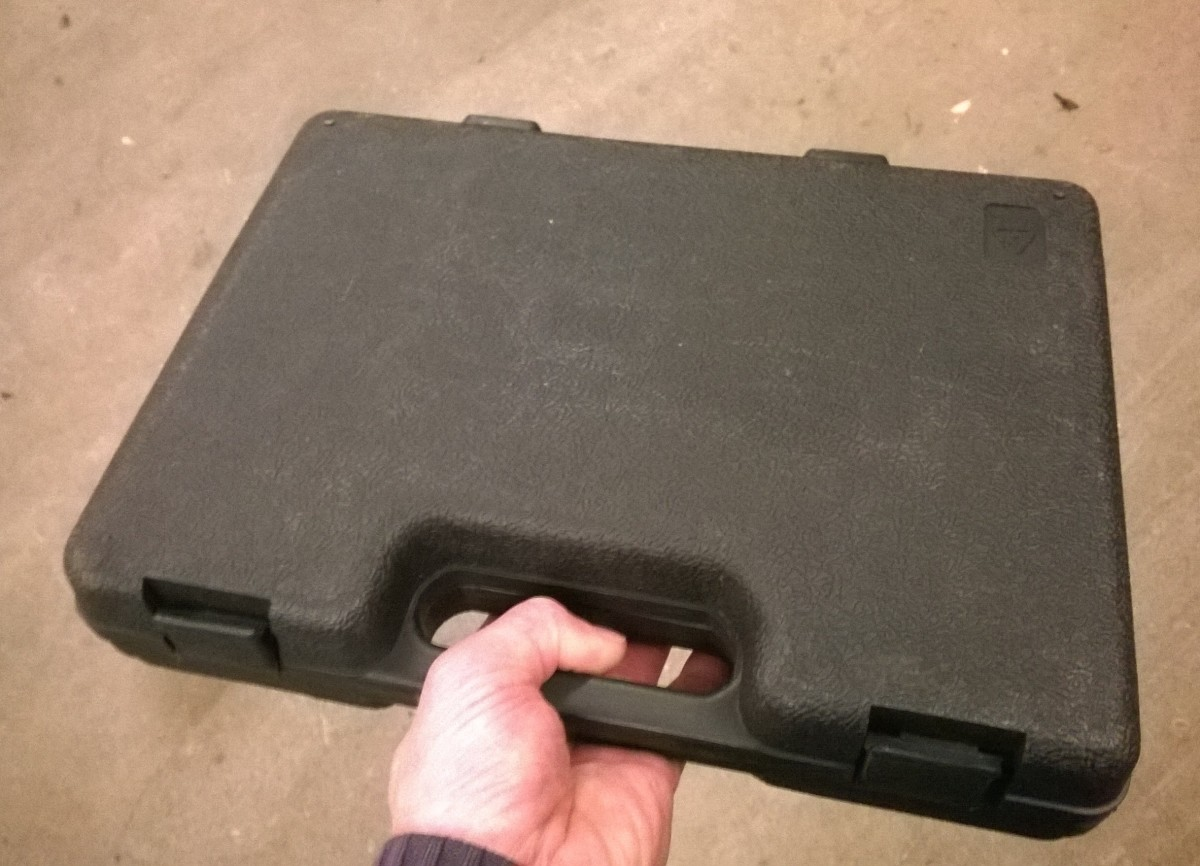 Blow molded tool cases