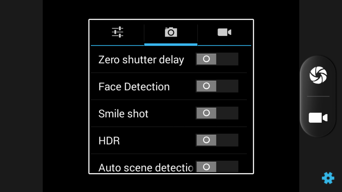 Camera interface