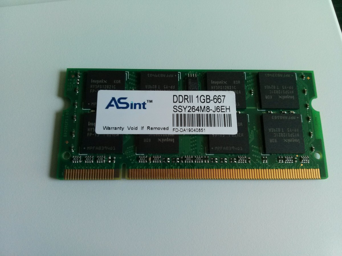 You will need one module of 1 GB PC2-5300 SO-DIMM 200 Pin RAM to upgrade your D430.