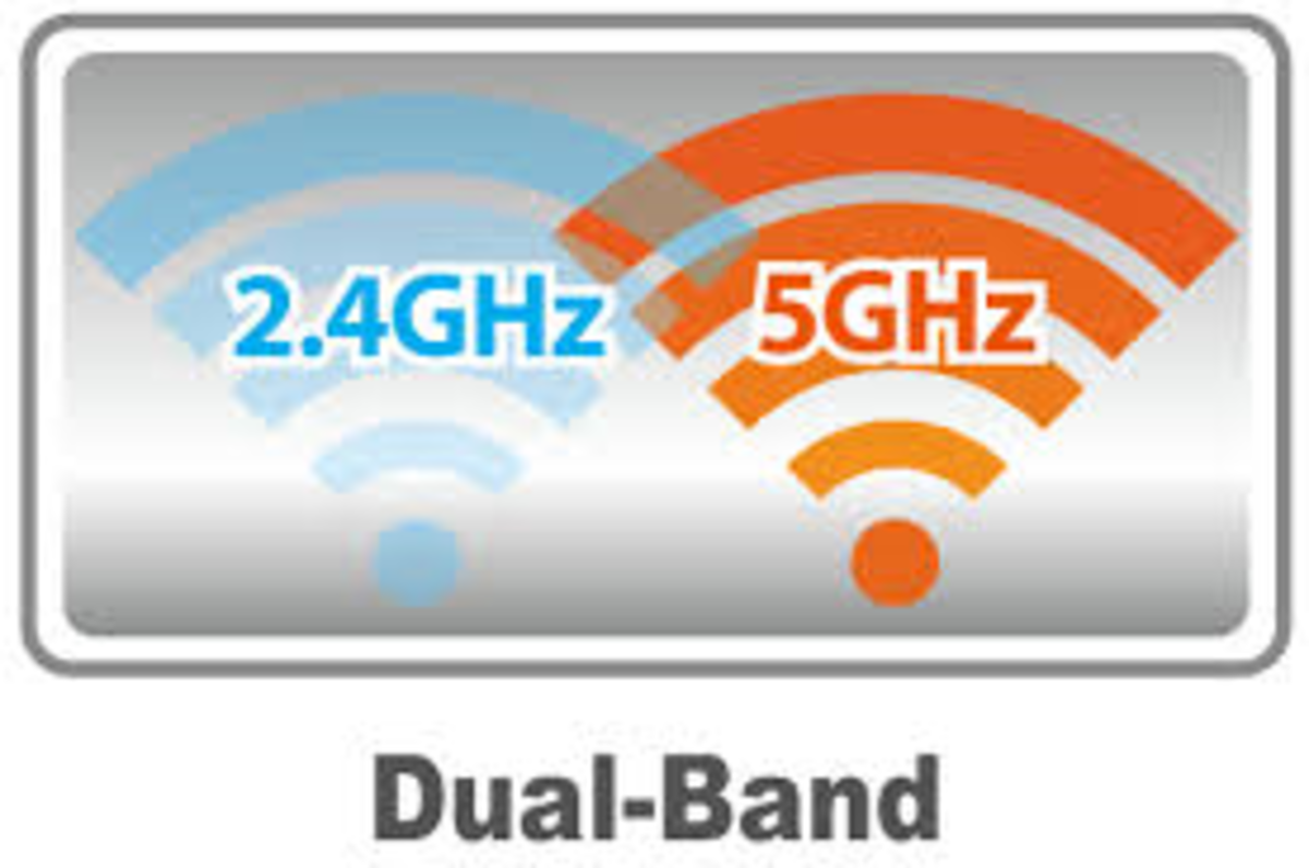 The main bandwidths used in today's routers