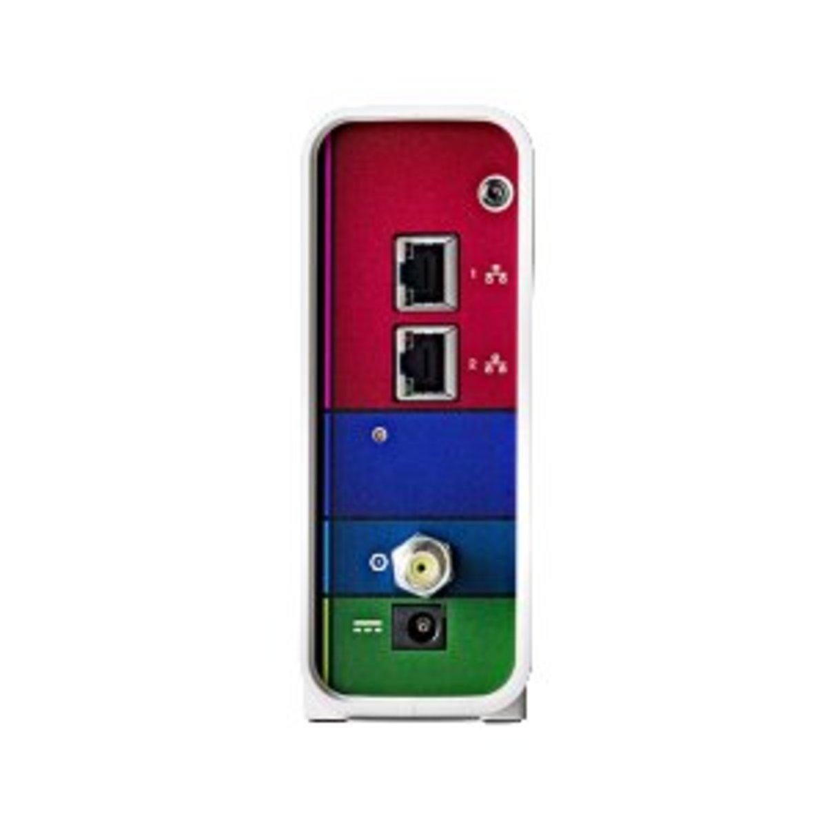 The ports of the Motorola SBG6700-AC