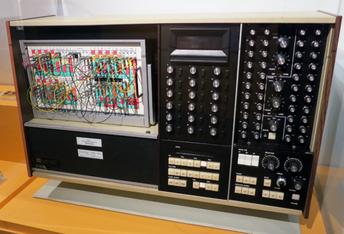 MiniAC Analog computer was used by University of Florida for model simulation