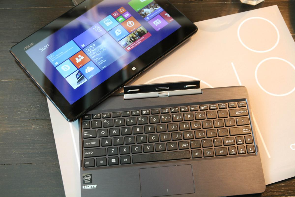 Asus T100 tablet/laptop hybrid