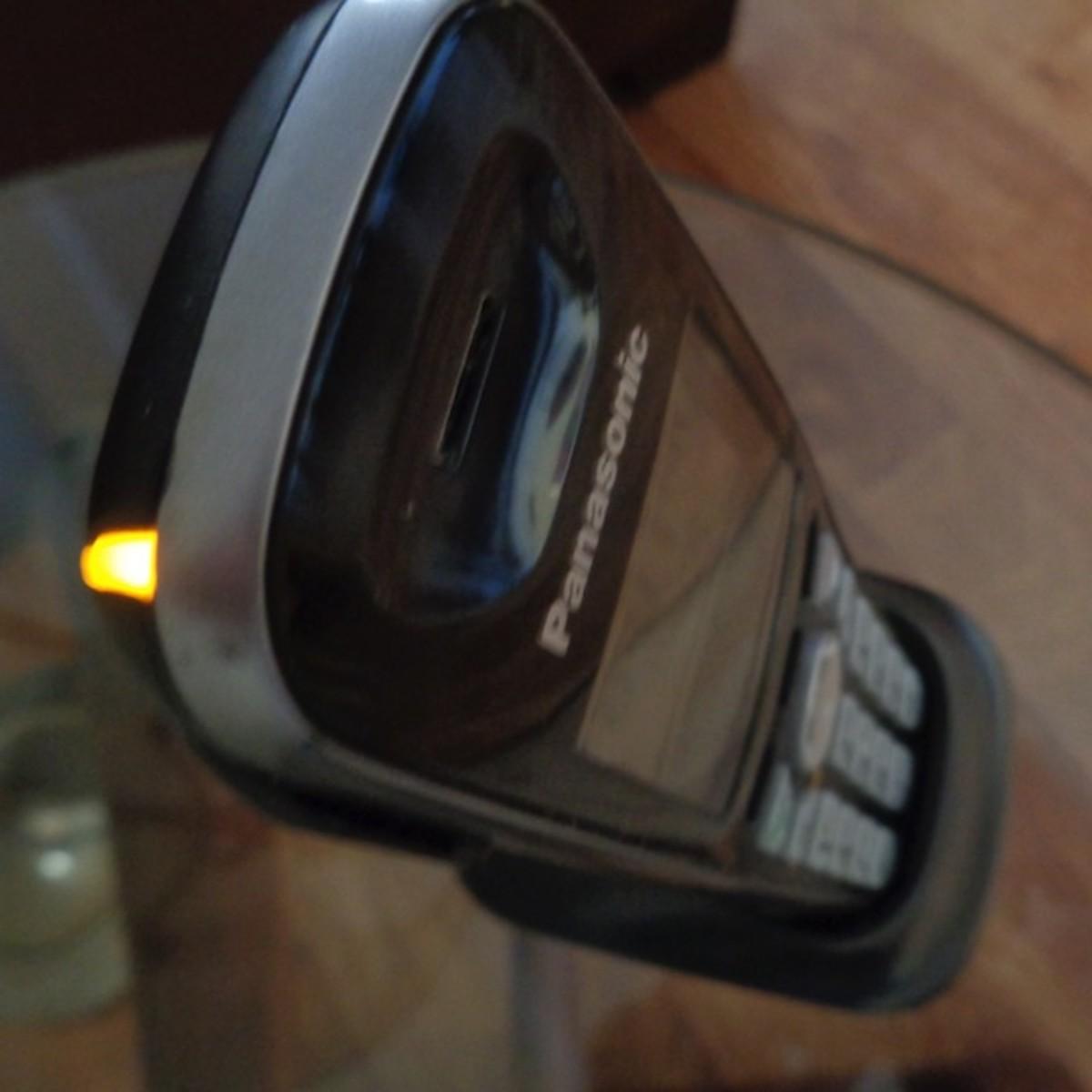 Message Indicator on Panasonic Phone