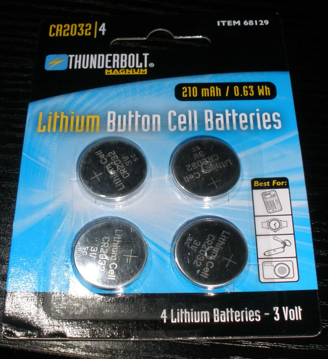 Any CR2032 coin cell battery can be swapped in to replace the old backup battery.  I prefer purchasing mine from Harbor Freight since they're so cheap.