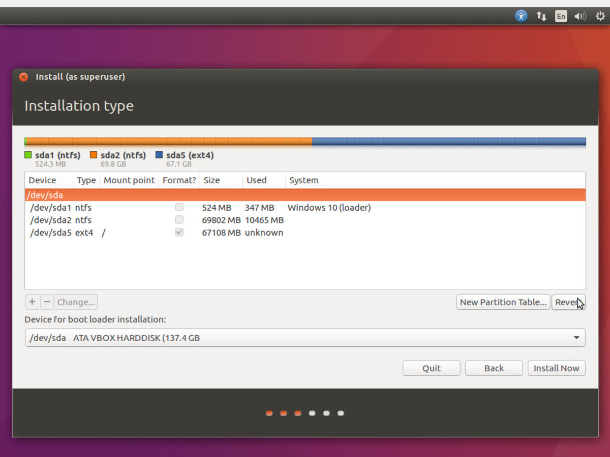 dual boot windows 8.1 and ubuntu 16.04