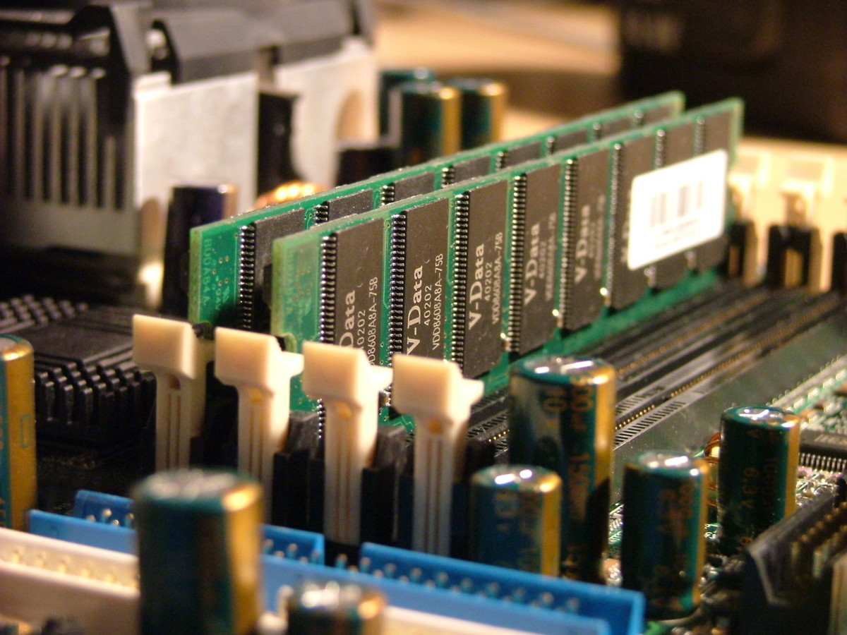 Memory on Desktop Motherboard