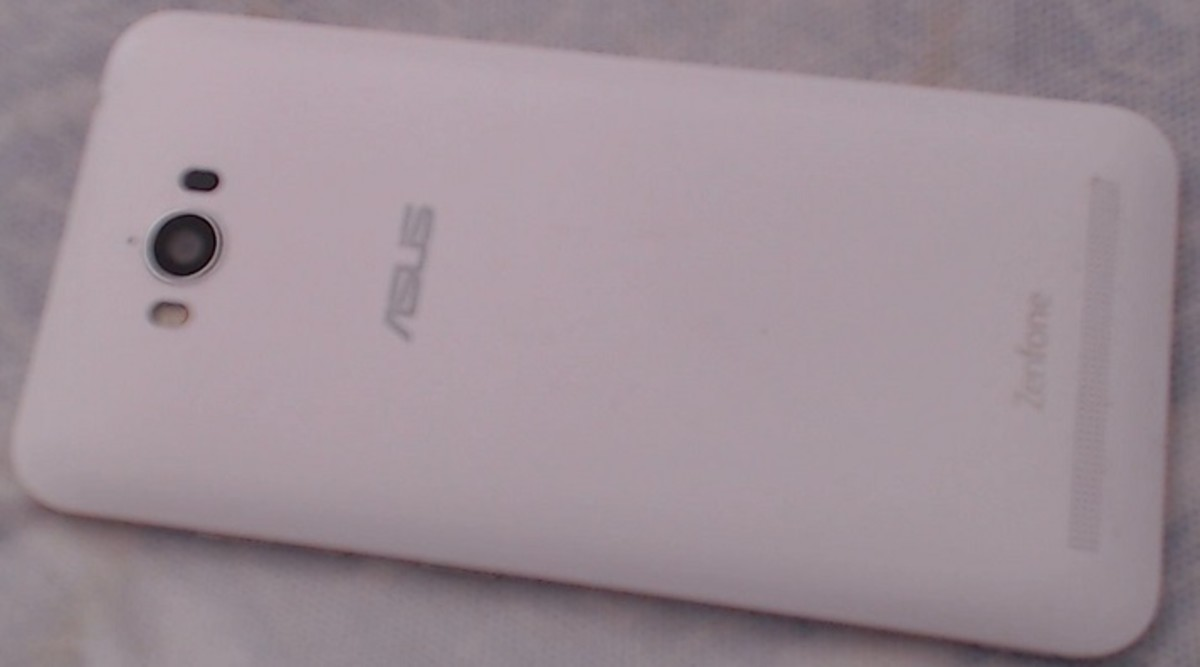 The Asus Zenfone Max, White Edition