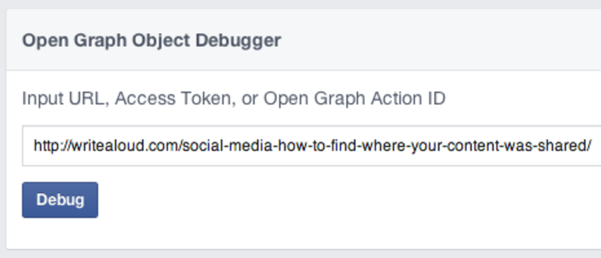 Running the debugger on my fancy lil url.