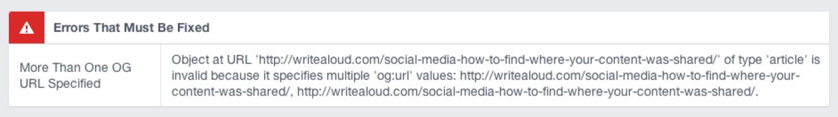 Dear Melanie, get your act straight. Love, Facebook