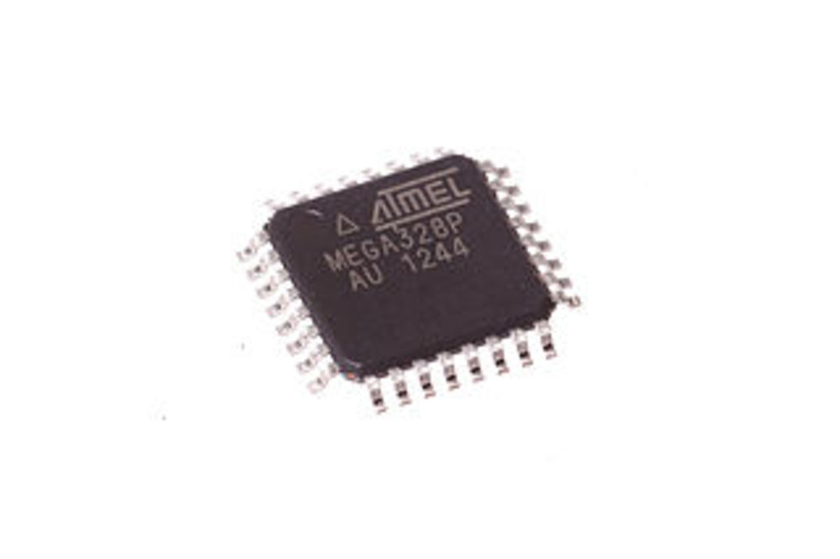 This the 328 microcontroller